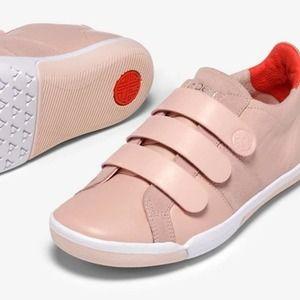 Plae Larkin Sneaker Cameo Rose Leather 7.5